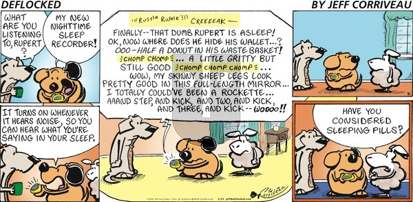 DeFlocked on Sunday February 23, 2020 Comic Strip