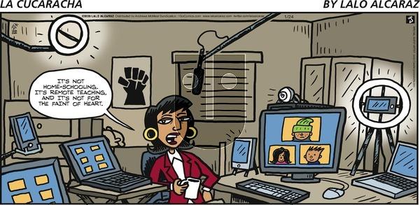 La Cucaracha on Sunday January 24, 2021 Comic Strip