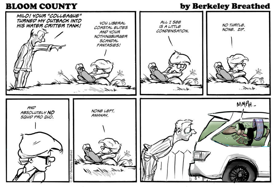 Bloom County 2019 by Berkeley Breathed for October 05, 2019
