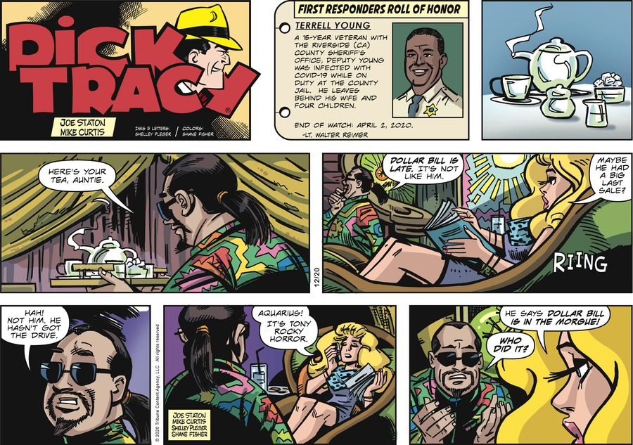 Dick Tracy Comic Strip for December 20, 2020