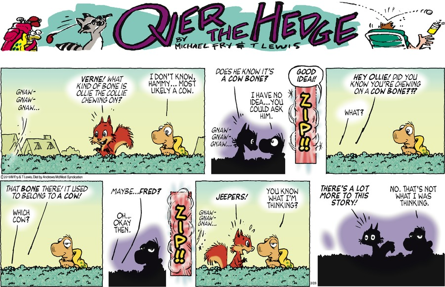 Over the Hedge Comic Strip for March 28, 2021