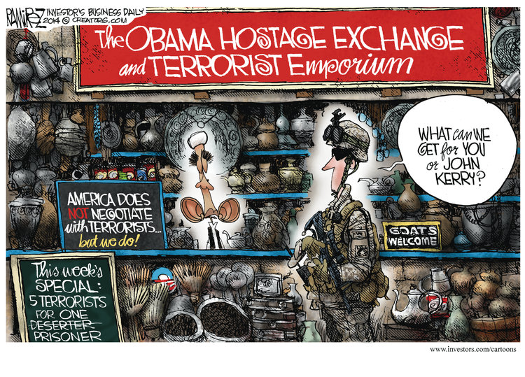 Michael Ramirez for Jun 4, 2014 Comic Strip