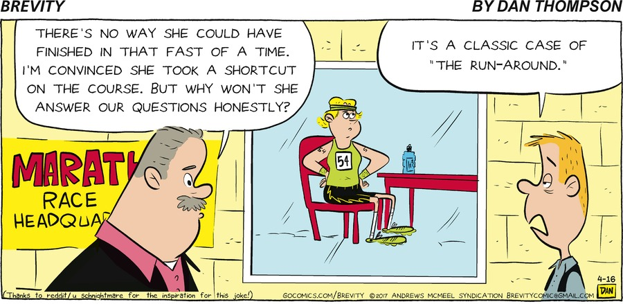Brevity Comic Strip for April 16, 2017