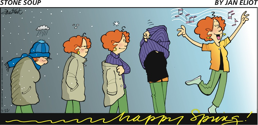 Stone Soup Comic Strip for March 22, 2020