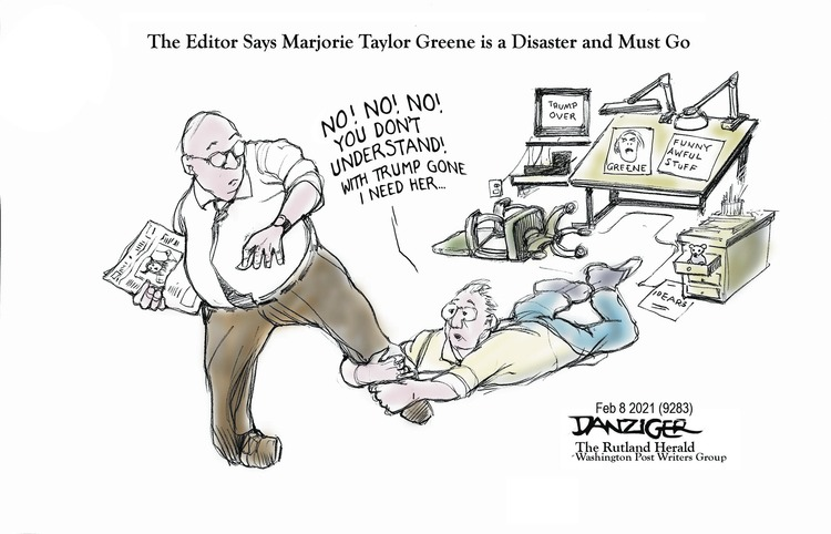 Jeff Danziger by Jeff Danziger on Sun, 07 Feb 2021