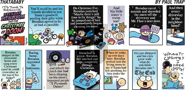 Thatababy on Sunday December 20, 2015 Comic Strip