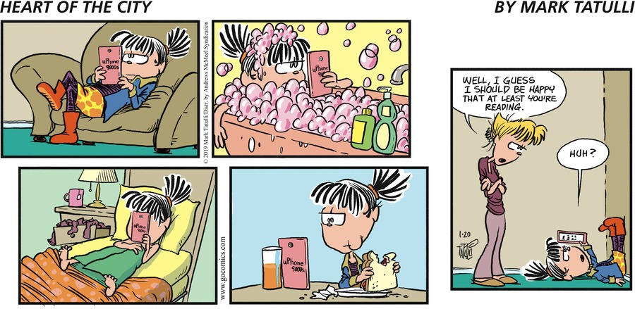 Heart of the City Comic Strip for January 20, 2019