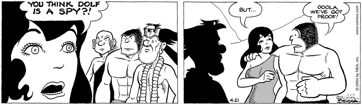 Alley Oop for Apr 21, 2004 Comic Strip
