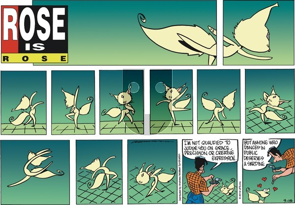 Rose is Rose - Sunday September 15, 2019 Comic Strip