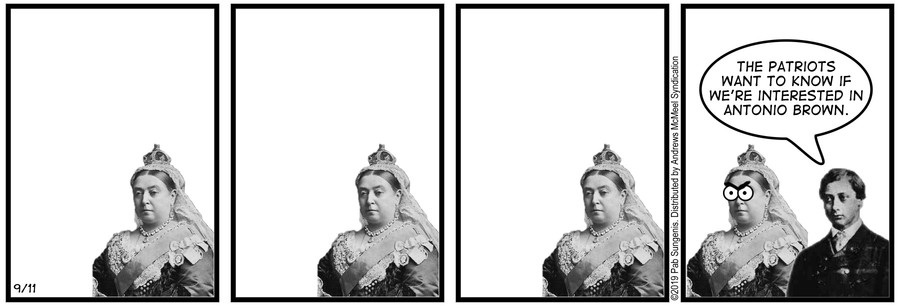 New Adventures of Queen Victoria Comic Strip for September 11, 2019