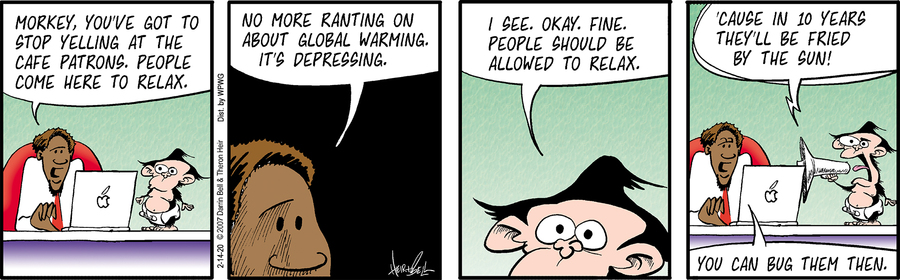 Rudy Park Comic Strip for February 14, 2020