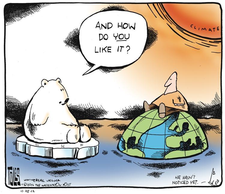 Tom Toles for Nov 25, 2012 Comic Strip