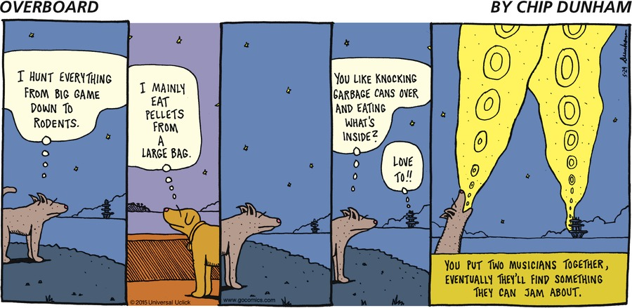 Overboard for May 24, 2015 Comic Strip