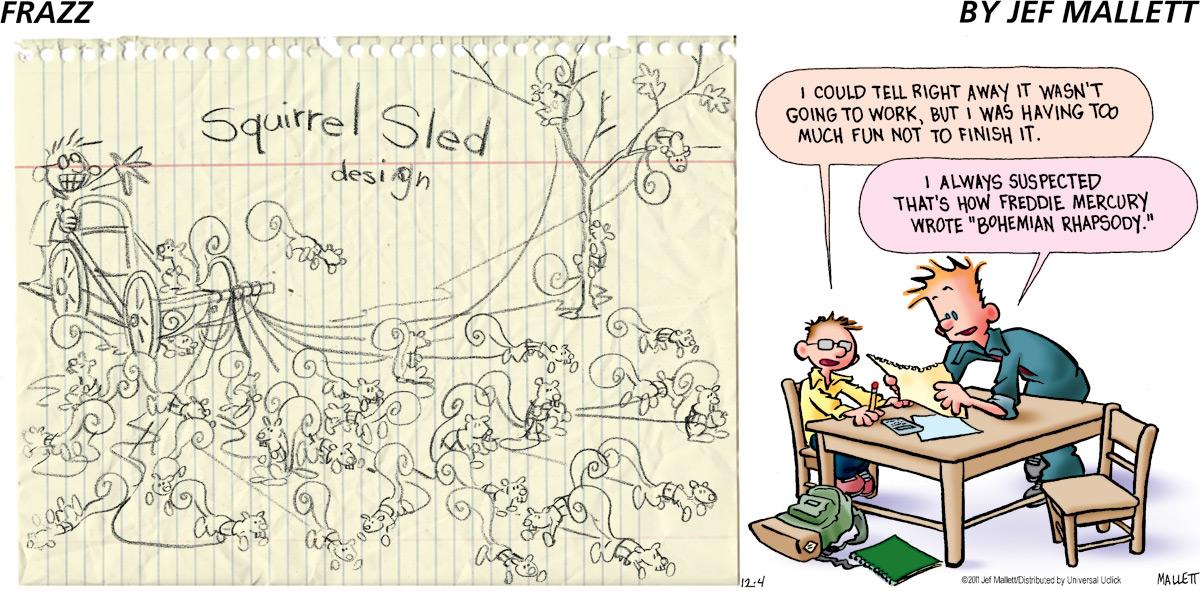 Frazz for Dec 4, 2011 Comic Strip