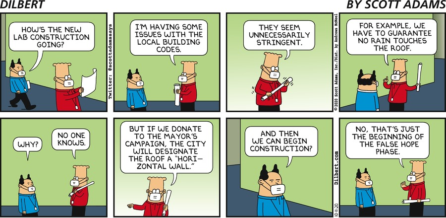 Building Codes - Dilbert by Scott Adams