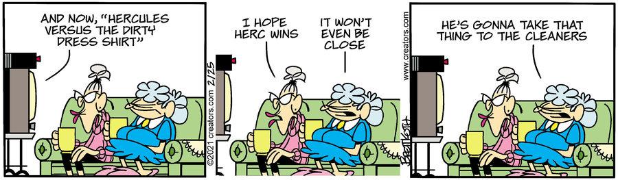Diamond Lil Comic Strip for February 25, 2021