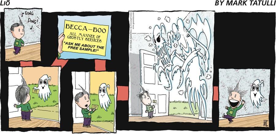 Lio for Sep 19, 2010 Comic Strip