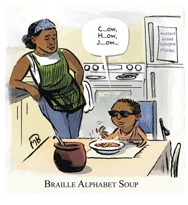 Braille Alphabet Soup