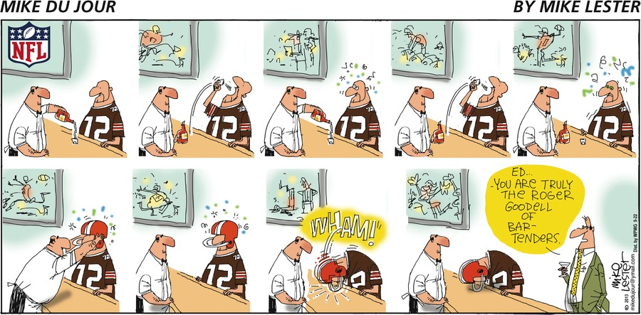 Mike du Jour for Sep 22, 2013 Comic Strip