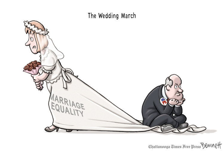 Clay Bennett Comic Strip for March 26, 2013