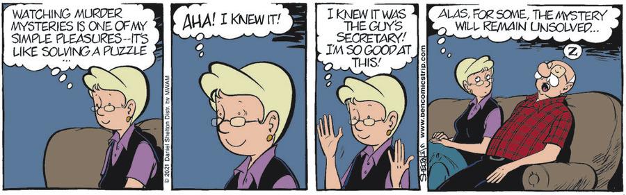 Ben Comic Strip for June 14, 2021