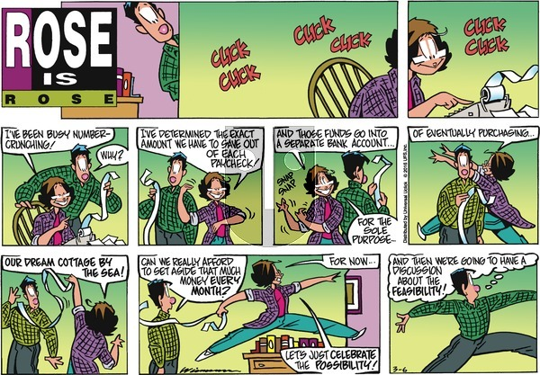 Rose is Rose on Sunday March 6, 2016 Comic Strip