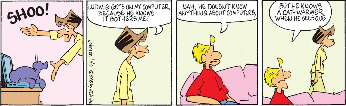 Arlo and Janis for Nov 19, 2008 Comic Strip