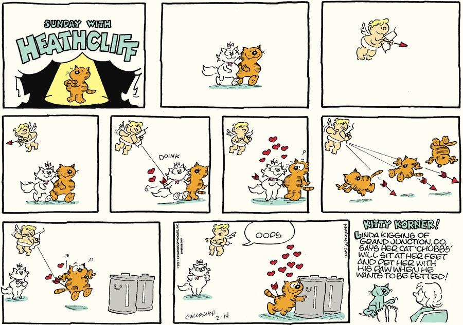Heathcliff by George Gately on Sun, 14 Feb 2021