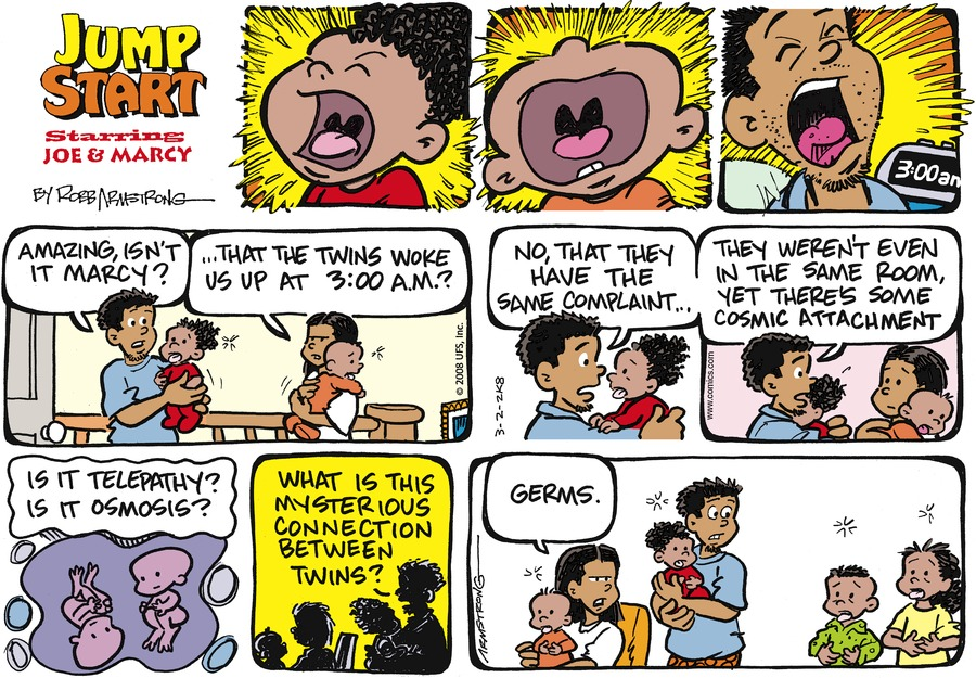 JumpStart Comic Strip for March 02, 2008