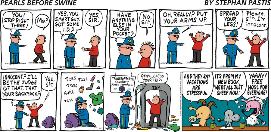 Pearls Before Swine Comic Strip for October 07, 2018