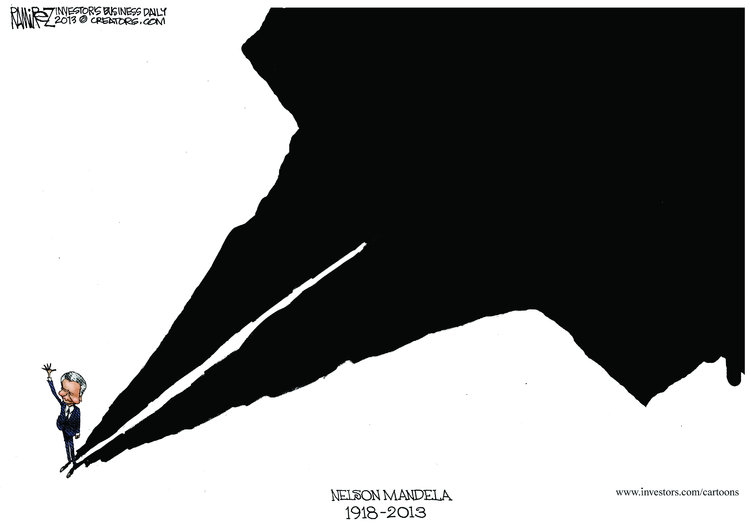 Michael Ramirez for Dec 6, 2013 Comic Strip