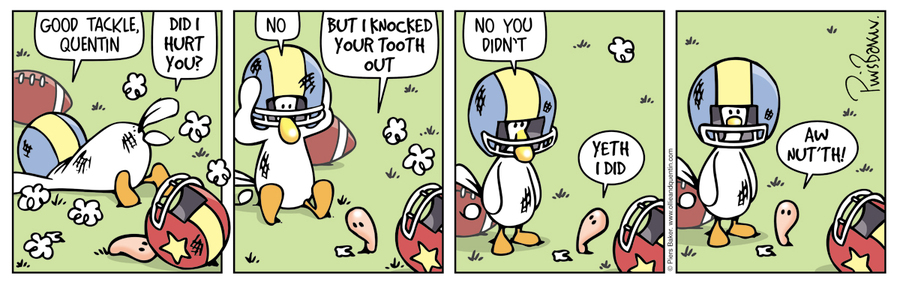 Ollie and Quentin Comic Strip for April 06, 2020