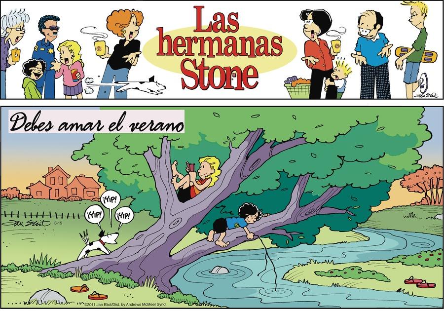 Las Hermanas Stone by Jan Eliot on Sun, 15 Aug 2021