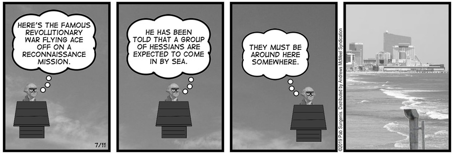 New Adventures of Queen Victoria Comic Strip for July 11, 2019