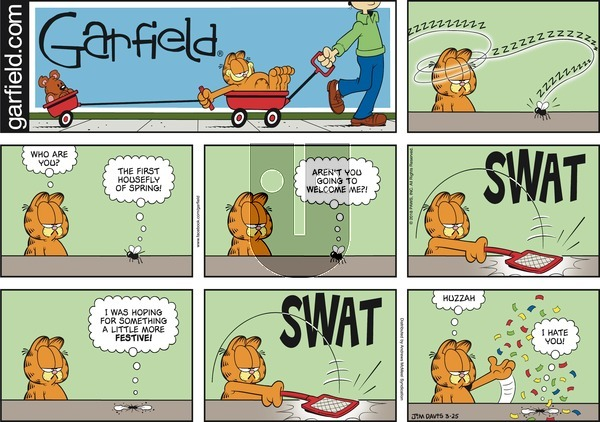 Garfield on March 25, 2018 Comic Strip