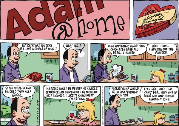 Adam@Home on Sunday February 15, 2015 Comic Strip