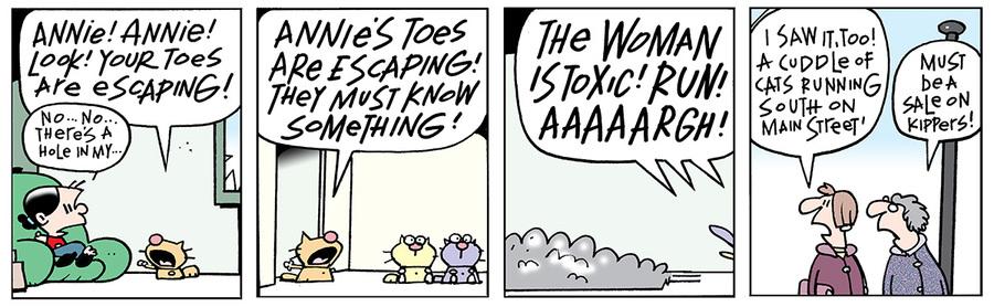 Ten Cats for Apr 8, 2014 Comic Strip