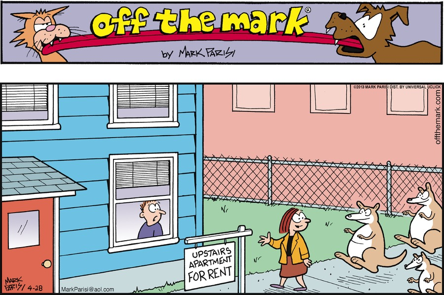 Off the Mark for Apr 28, 2013 Comic Strip