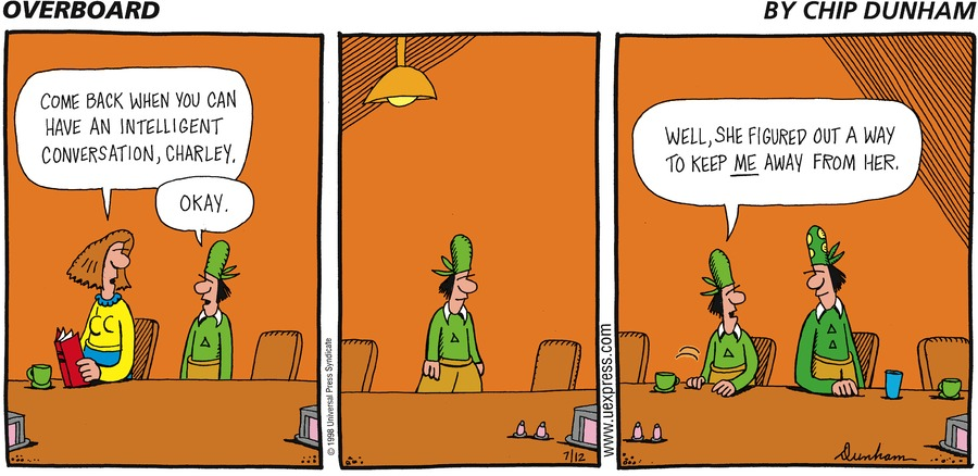 Overboard for Jul 12, 1998 Comic Strip
