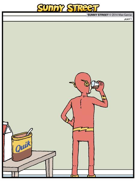 Sunny Street Comic Strip for December 03, 2014