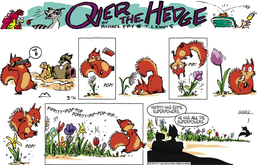 Over the Hedge Comic Strip for March 21, 2021