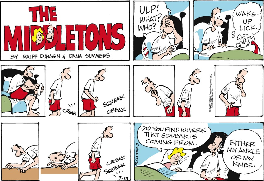 The Middletons Comic Strip for March 29, 2020