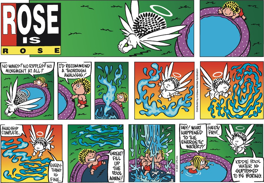 Rose is Rose Comic Strip for August 16, 2020