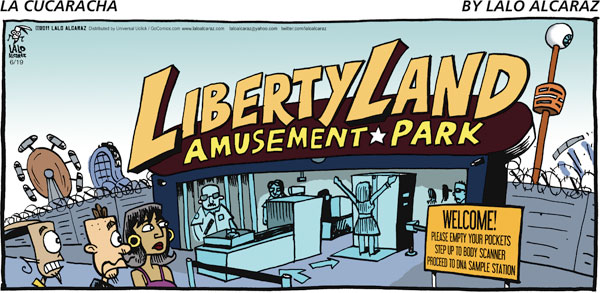 La Cucaracha Comic Strip for June 19, 2011