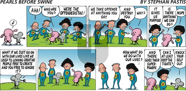 Pearls Before Swine on Sunday February 23, 2020 Comic Strip