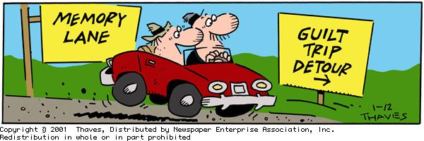 Frank and Ernest for Jan 12, 2001 Comic Strip