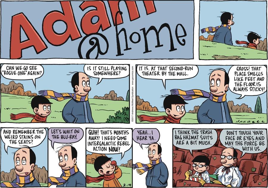 Adam@Home Comic Strip for February 19, 2017