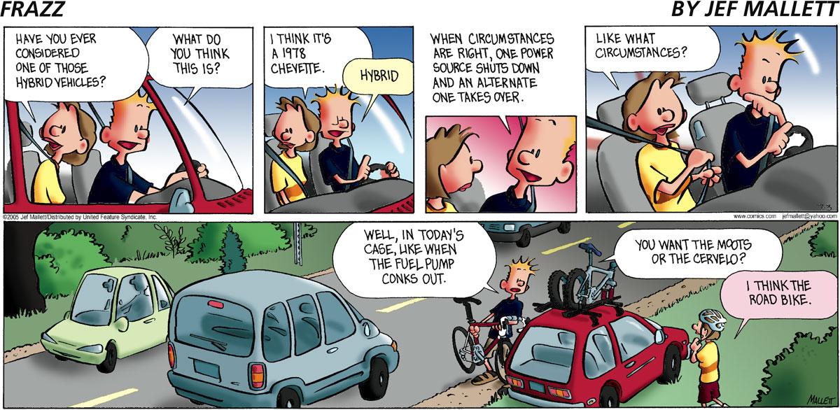 Frazz Comic Strip for July 03, 2005