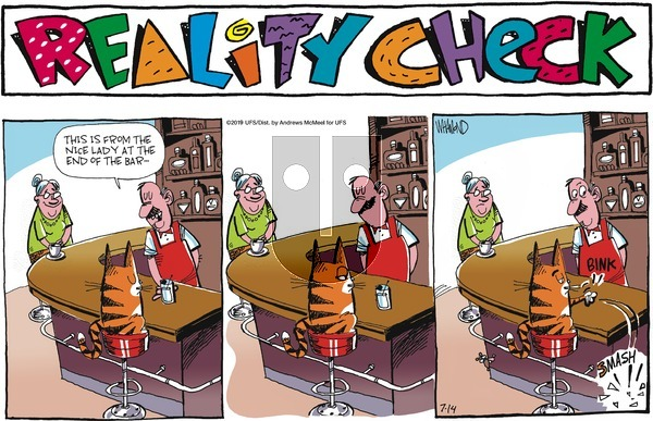 Reality Check - Sunday July 14, 2019 Comic Strip