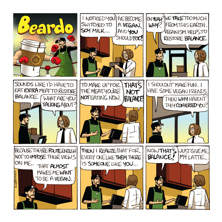 Beardo Comic Strip for December 10, 2018
